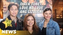 Direk Tonet, love na love ang LizQuen! | 'Alone/Together' Star Bits