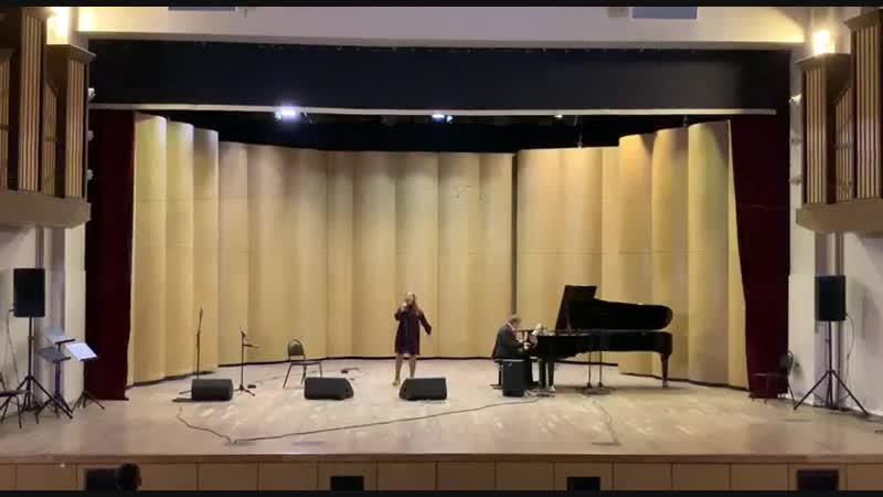 Выступление с А Барабошиной