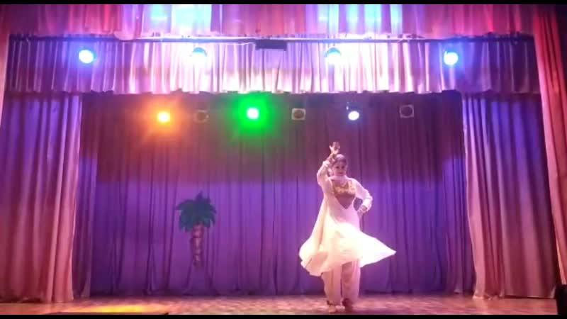 Kahe ched mohe. Korneeva Margarita. Amdjad Dance Studio. Indian dance