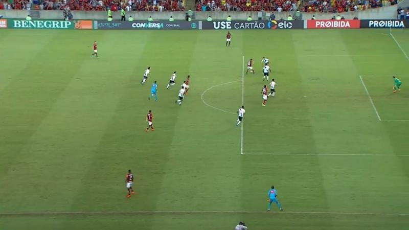 Flamengo 1 x 1 Vasco - Gol impedido do Flamengo