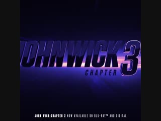 And so it begins. text 'john wick' to 91099 for a one hour head start.