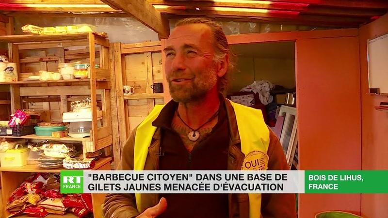 Dans l'Oise, des Gilets jaunes défendent leur camp, menacé d'évacuation