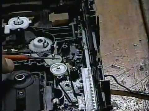 Panasonic 5 CD mecânica no ponto Repair