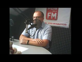 Гость в студии - Кусманов Сергей Александрович, директор института физико-математических и естественных наук КГУ