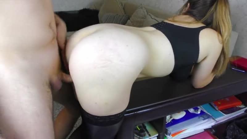 Трахнул раком Домашнее порево POV Big natural tits job and thigh job