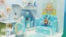 DIY Miniature FROZEN Bedroom DIY Super Terrific Happy Kitchen Miniature Dollhouse Room