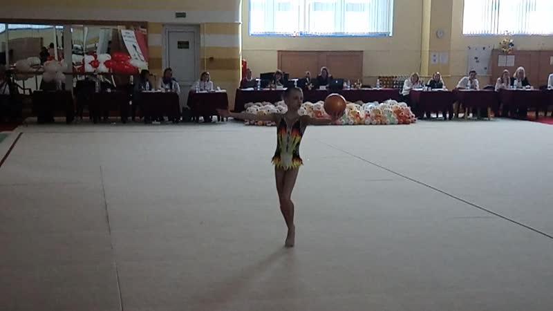 Анастасия Кондрусевич мяч Белые Росы 19