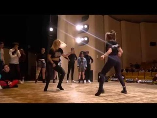 WICKED ZONE 2019  DANCEHALL 2x2   DASHA and NASTIA vs TWO FLOWERS  1/4