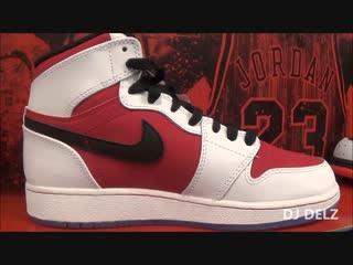 Мужские кроссовки Air Jordan 1 KO High OG Красные бронзы металлик