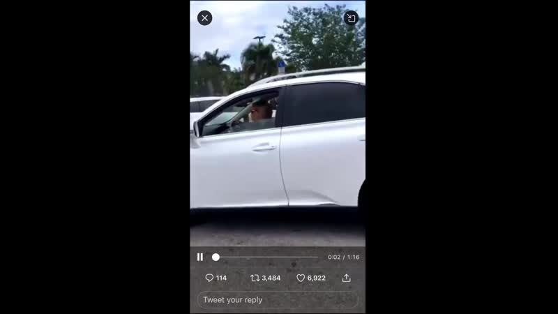 Ripsave Middle age woman crashes into the back of some attempts to flee the scene and refuses to comply with police orders.