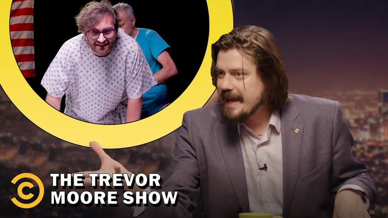 Aliens, Psychics Sam Gets a Real Anal Probe - The Trevor Moore Show