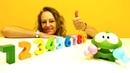 Zahlen Lernen mit OmNom - 5 OmNom Episoden am Stück - Spielzeugvideo für Kinder