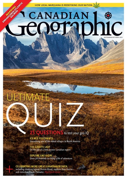 Canadian Geographic Sept-Oct 2019