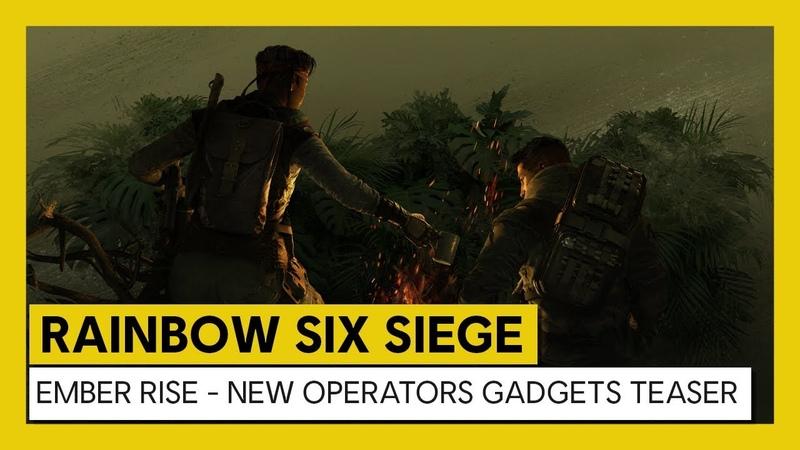 Rainbow Six Siege: Operation Ember Rise New Operator Gadgets Teaser