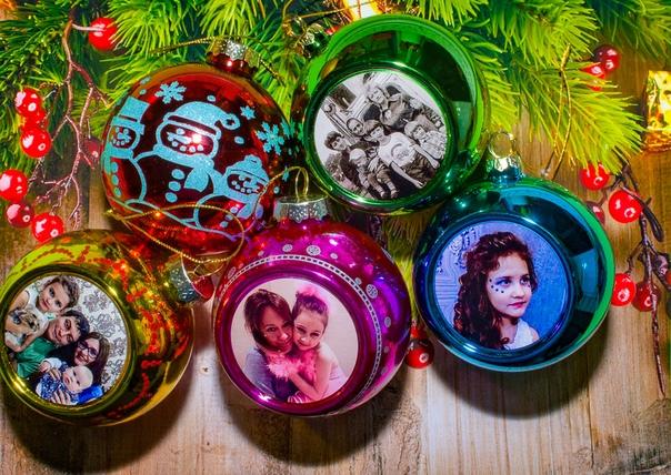 елочные шары с фотографией на заказ москва ссылки