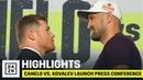 HIGHLIGHTS Canelo vs Kovalev Launch Press Conference