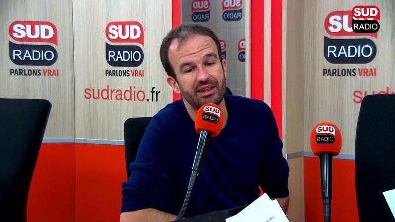 Manuel Bompard France Insoumise Invité politique de Sud Radio
