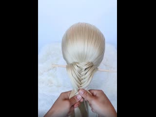 Мастер класс плетения оригинальной косы