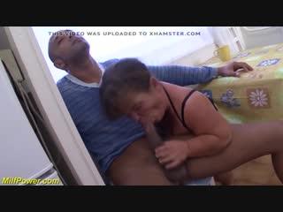 [Milfpower] midget matures first interracial xhamster.com / Первый секс карлика с негром