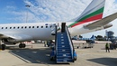 Embraer 190 а к Bulgaria Air Рейс Милан София