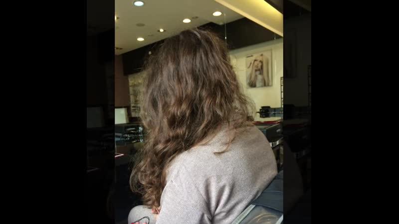 Выпрямляем не только волосы но и осанку с Староверова Юлия@beautyrai