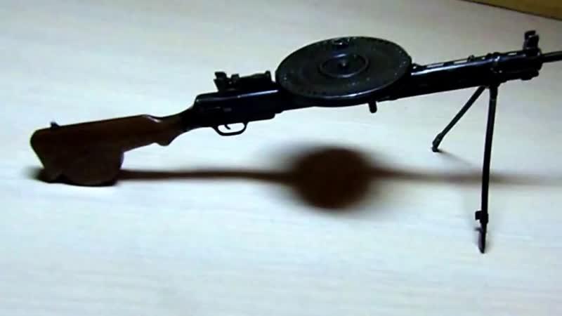 ДП 27 Пулемёт Дегтярёва маштаб 1 5