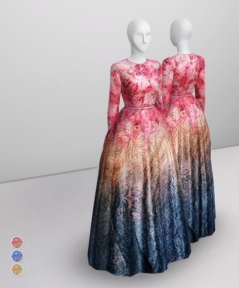 Формальная одежда, свадебные наряды - Страница 19 CHCwnfPplk4