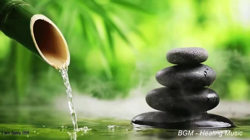 自然の音とともに音楽をリラックス バンブーウォーターファウンテン 癒し音楽BGM