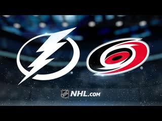 NHL 2018-19 / RS / Tampa Bay Lightning - Carolina Hurricanes / FS-Sun