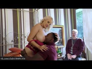 CuckoldSessions - Angel Wicky Cuckold Interracial BBW BBC Sexwife Куколд Сексвайф Межрассовое Чернокожий трахнул жену при муже