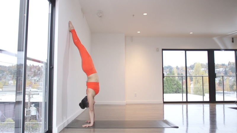 Moderate Handstand Flow with Melini Jesudason