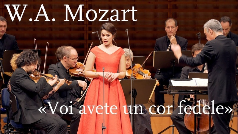 W A Mozart Voi avete un cor fedele K 217 Regula Mühlemann