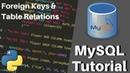 Python MySQL Tutorial - Foreign Keys Relating Tables