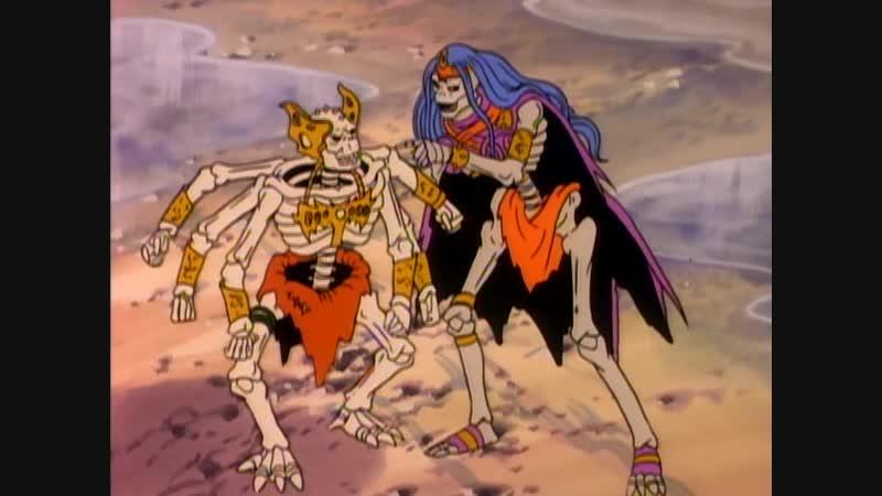 Воины скелеты Skeleton Warriors Прошлое прекрасно будущее неопределенно 8 Серия