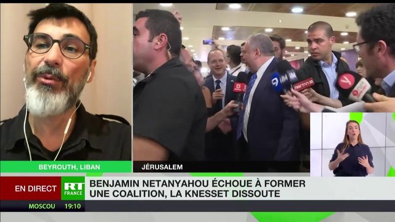 RT / Dissolution de la Knesset : Très très grande défaite pour Benjamin Netanyahou (30.05.2019)