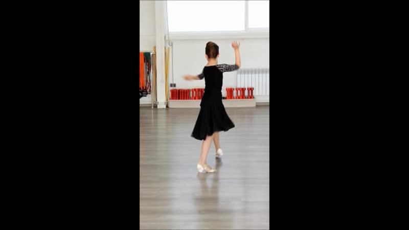 София Банникова 5 танцев латиноамериканской программы. 9 лет, Дети-2
