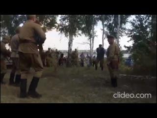 На фестивале реконструкторов расстреляли человека Рифмы и Панчи