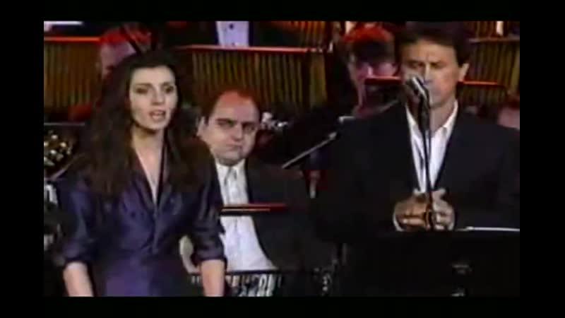 Emma Shapplin George Dalaras - Spente le Stelle live.