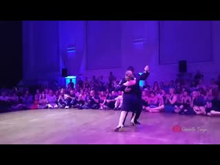 Carlos Espinoza  Noelia Hurtado  Gallo Ciego (Osvaldo Pugliese) @ The Brussels Tango Festival 2019
