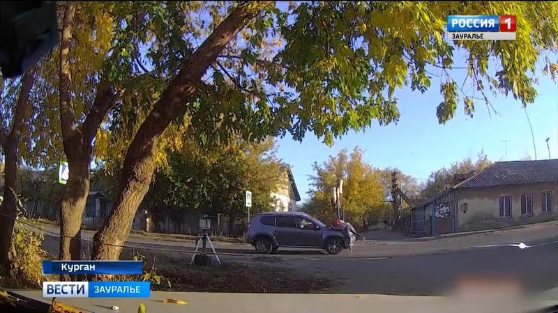 Под колёсами - дети: курганские автоинспекторы проводят уроки безопасности