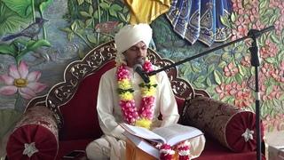 Матхура Бихари Шримад Бхагаватам  день пятый часть 1