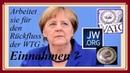 Zeugen Jehovas - geht Merkel für die Kabalen anschaffen?