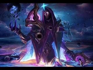 Dark Cosmic Jhin - Login Screen and Music - League of Legends