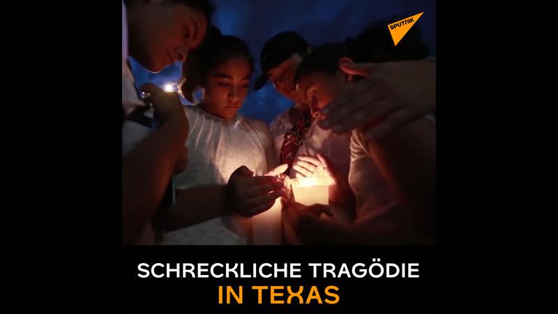 Schreckliche Tragödie in Texas - Neue Schießerei in den USA