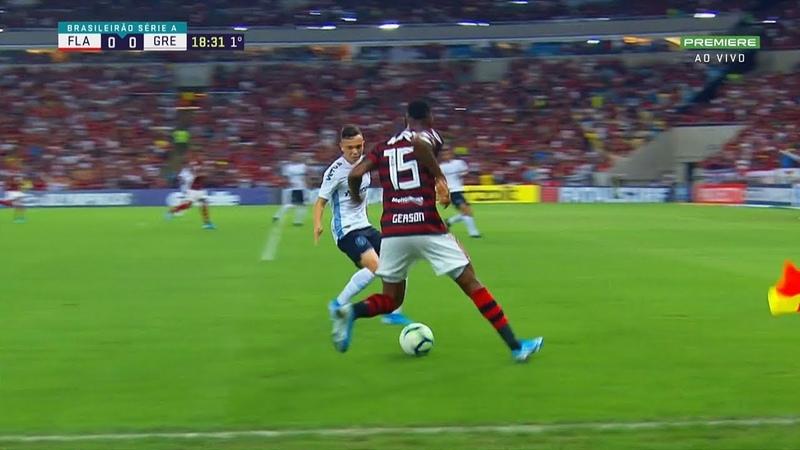 Gerson vs. Grêmio (10/08/2019)