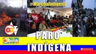 Levantamiento Indígena en Ecuador - Transmisión en directo de CiudadColorada TV