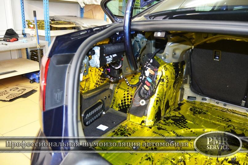 Шумоизоляция Volkswagen Passat, изображение №11