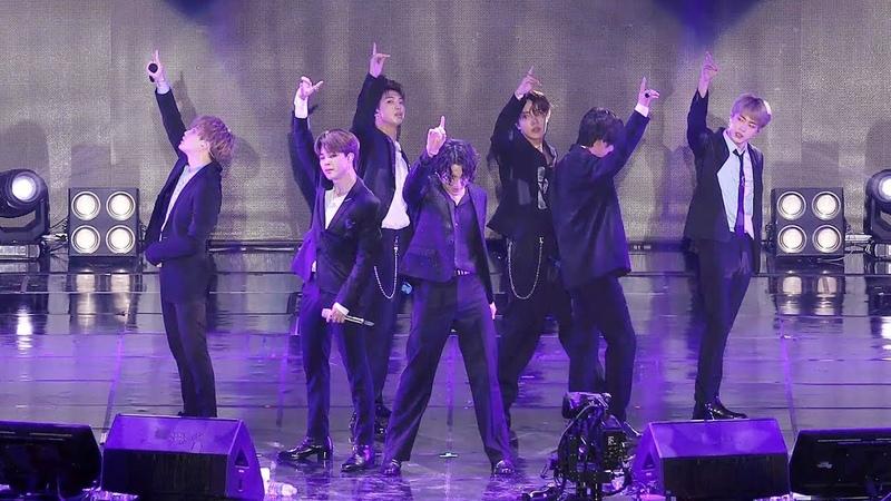 190811 BTS Best of me 방탄소년단 베옵미 Lotte Family Festival 4K 직캠 by 비몽