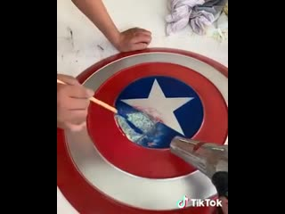 The right way to fix captain america shield