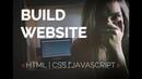 How to Create a Website / CSS / HTML / JavaScript / верстка сайта (всплывашка на JS)